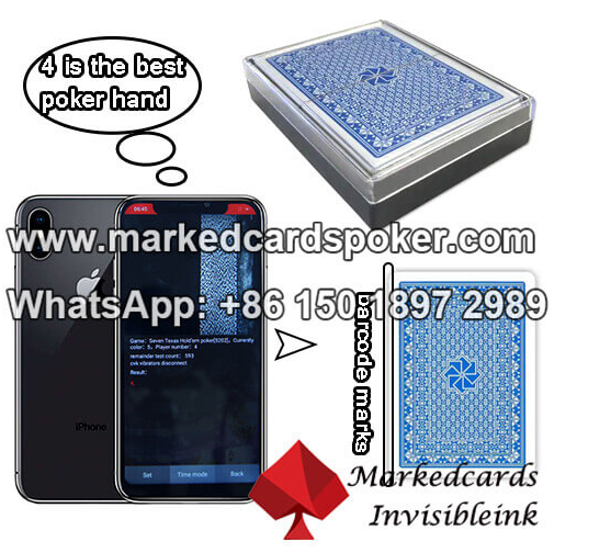 marked poker decks for cheating camera