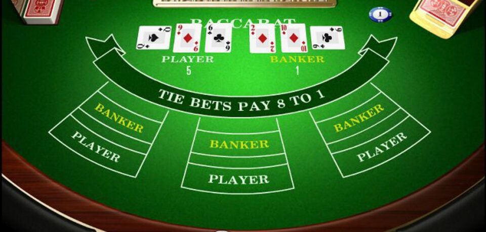 Baccarat: A Platform To Place The Wager Online